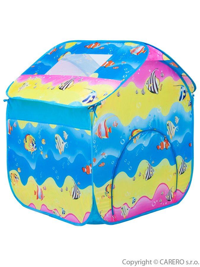 Detský stan Bayo farebný Modrá (DETSKý STAN BAYO FAREBNý MODRá)